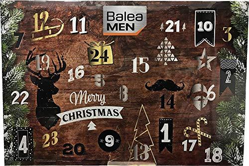 Kosmetik Adventskalender 2018 für Herren von Balea - Lovely Moments Advent Kalender mit 24 Beauty Produkten für Männer - Balea Pflegeprodukte - Limitierte Auflage + Parfumproben Damen und Herren