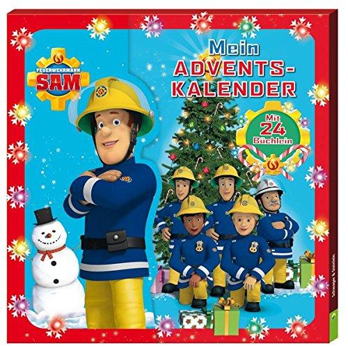 Mein Adventskalender Feuerwehrmann Sam: Mit 24 Büchlein