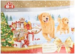 8in1 Adventskalender für Hunde, das Geschenk mit extra Kauspaß - 1