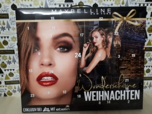 Maybelline New York Adventskalender 2018-DM