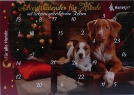 Adventskalender für Hunde Leckerli getreidefrei - 1