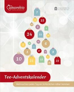 amorebio Bio Tee-Adventskalender (1 x 24 Btl) - 1