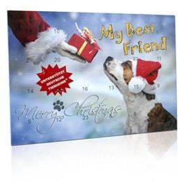 """C&T Adventskalender für Hunde """"My Best Friend"""" 2017 - 24 Leckerbissen im Weihnachtskalender für den besten Freund - Unterstützt deutsche Tierheime - 1"""