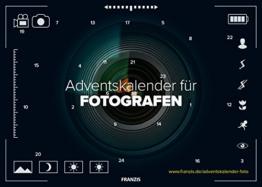 FRANZIS Adventskalender für Fotografen 2018