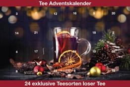 Grüner Tee Adventskalender 2018, Grüne- weiße- gelbe- und Oolong Tees für 24 mal besten Tee Genuss - 1