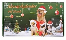 Leitner Adventskalender für Hunde Hundespielzeug Weihnachten - 1