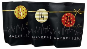 Maybelline New York Do-it-yourself Adventskalender