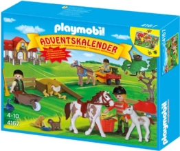 PLAYMOBIL 4167 - Adventskalender Reiterhof - 1