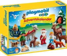 PLAYMOBIL 5497 - Adventskalender Waldweihnacht - 1