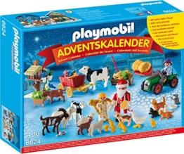PLAYMOBIL 6624 - Adventskalender Weihnacht auf Dem Bauernhof - 1