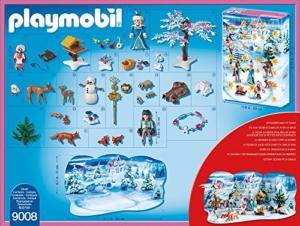 PLAYMOBIL 9008 - Adventskalender Eislaufprinzessin im Schlosspark - 3