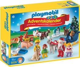 PLAYMOBIL 9009 - 1.2.3 Adventskalender Weihnacht auf Dem Bauernhof - 1