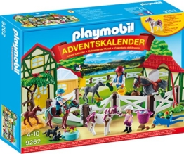 PLAYMOBIL Adventskalender 9262 Reiterhof