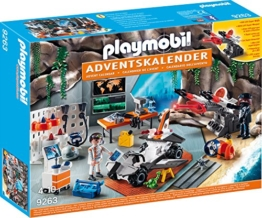 PLAYMOBIL 9263 - Adventskalender Spy Team Werkstatt - 1