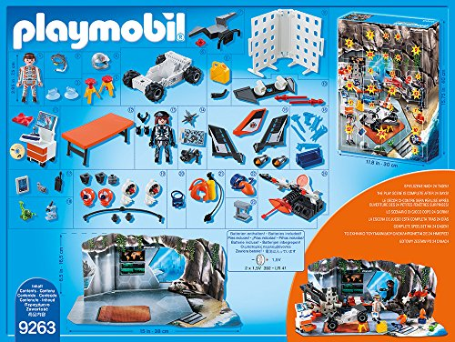 PLAYMOBIL 9263 - Adventskalender Spy Team Werkstatt - 3