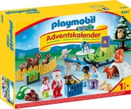 PLAYMOBIL 9391 Adventskalender Waldweihnacht der Tiere - 1