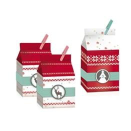 "ROTH 80319 Adventskalender 24 Boxen ""Nordic Bags"" - 1"