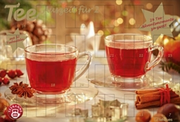 Tee-Adventskalender für Zwei 2018 - Adventskalender, Teekalender, Foodkalender, Weihnachtskalender - 56 x 38,2 - 1