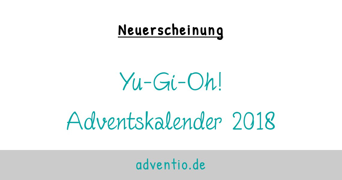 Yu Gi Oh Adventskalender